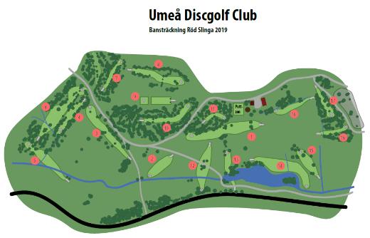 Umea Discgolf Club Banan